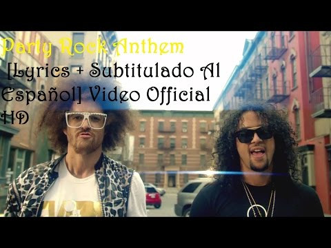 LMFAO  Party Rock Anthem Lyrics + Subtitulado Al Español   HD