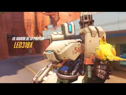 Overwatch - Bastion Power!