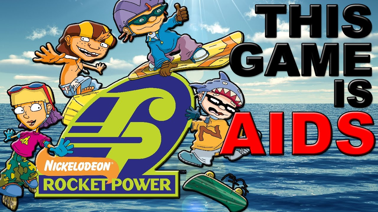 worst game ever rocket power team rocket rescue ps1 gameplay