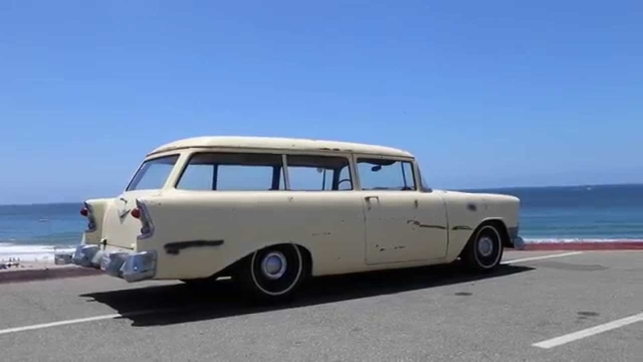 1956 Chevy 150 2 door Handyman hot rod wagon for sale in SoCal - 350 ...