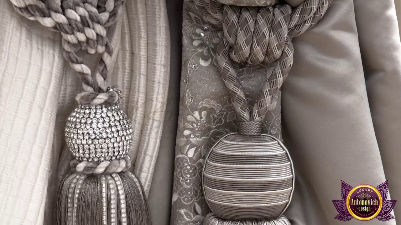 Exclusive Curtains from Luxury Antonovich Design