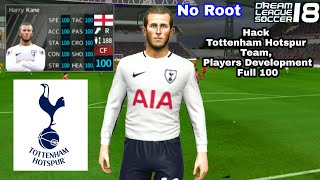 Tottenham Hotspur 2018 2019 All Players 100 Dream League
