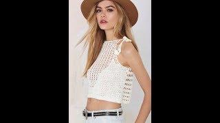Вязание Крючком - Летние Женские Кофточки - 2018 / Knitting Crochet Summer Women's Blouses
