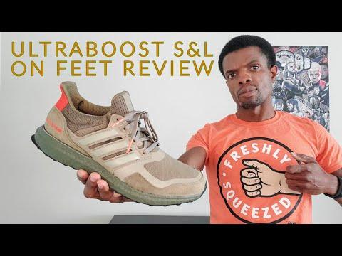"Buscar Omitir en términos de  Adidas UltraBoost S&L ""Khaki / Trace Cargo"" On Feet Review (EF1978) -  YouTube"