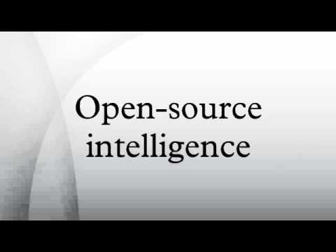 Open-source intelligence