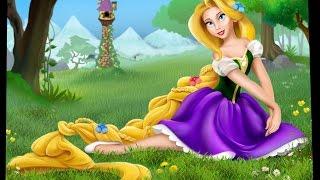 Çocuklar için İngilizce Rapunzel Animasyonlu masal | Masal - Tam Hikaye