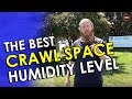 Crawl Space Humidity Problems | Best Humidity Level Crawl Space | Crawl Space Dehumidifier Setting