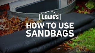 How To Use Sandbags to Prevent Flooding | Severe Weather Guide