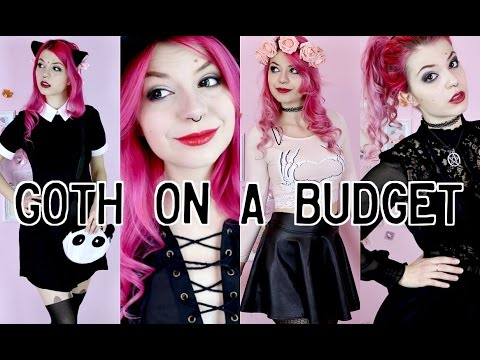 Alternative/Goth On A Budget - LookBook