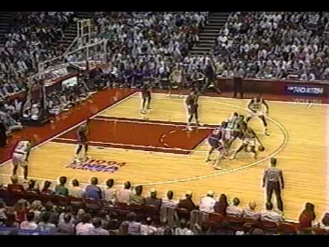 Tom Chambers airballs 3 jazz-houston 94 playoffs