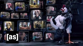 Robot Chicken and Mad Scientist to the Rescue! | Robot Chicken | Adult Swim