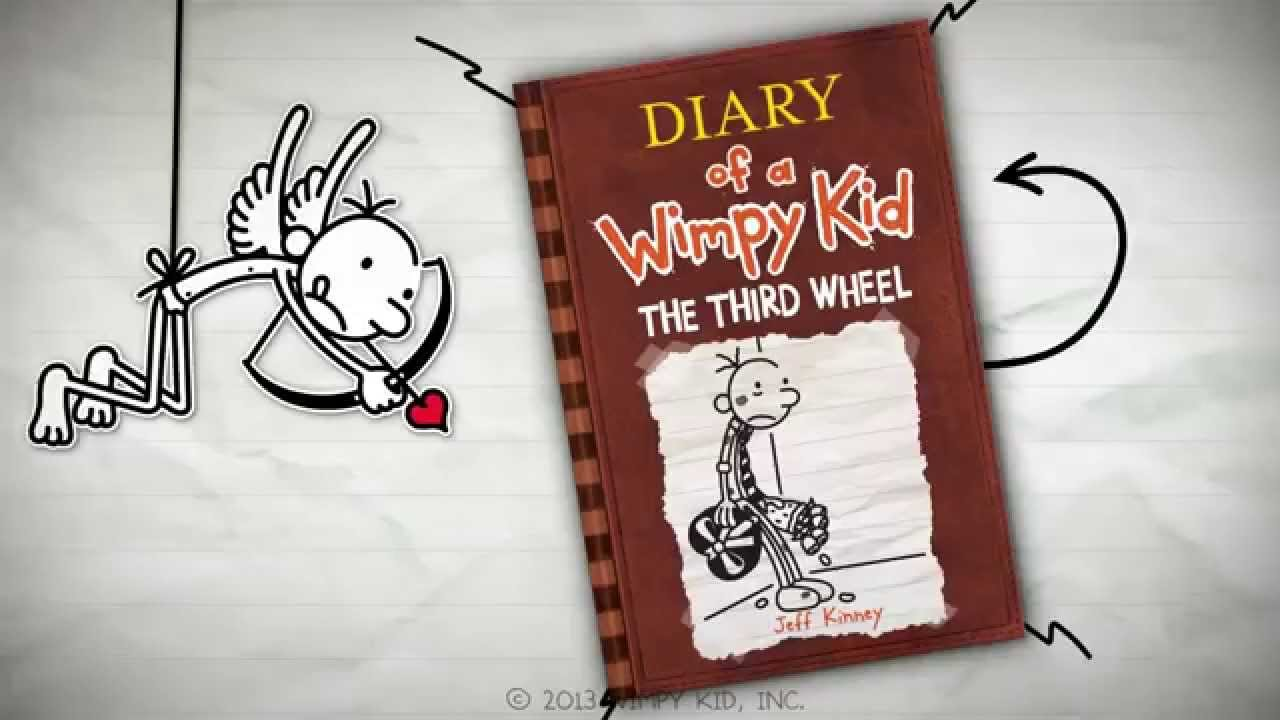 Diary Of A Wimpy Kid The Third Wheel By Jeff Kinney Youtube