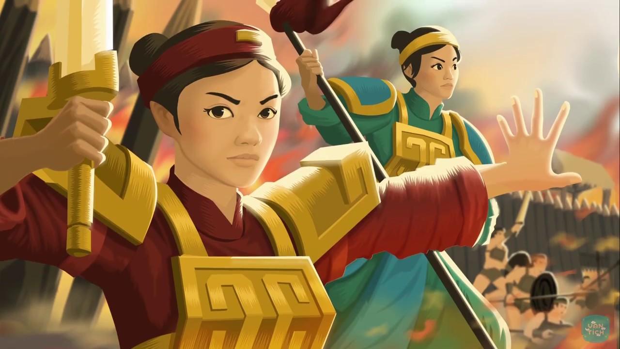 Image result for hAI bà Trưng và Mã Viện