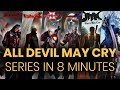 All Devil May Cry series in 8 Minutes
