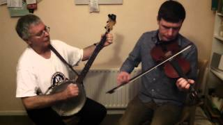 Lillibullero & Huntsmans Chorus on banjo & Fiddle
