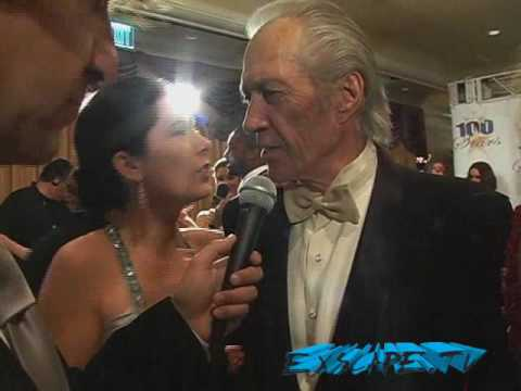 David Carradine Being Interviewed By Gary...