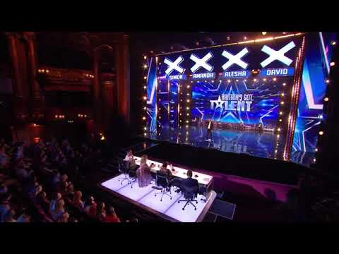 Magician From Malaysia Auditions BRITAIN'S GOT TALENT 2018