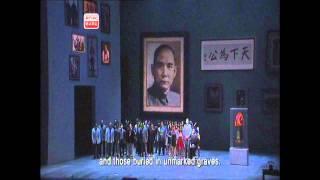 Opera Dr Sun Yat-sen - Sun Yat-sen aria