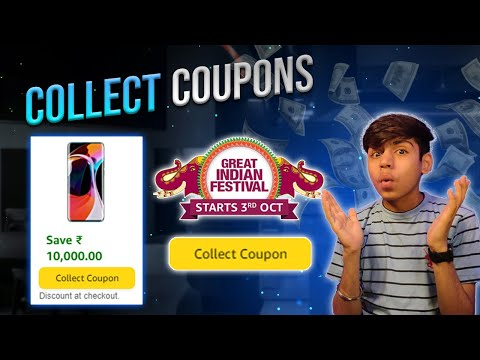 How To Collect Amazon Coupon For Amazon Great Indian Festival Sale 2021🤑 |