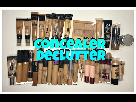 Concealer Declutter | Declutter with Me!