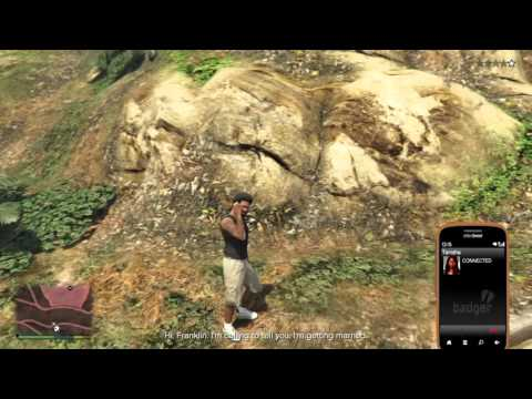 GTA 5 Franklin hears about Tanishas marriage