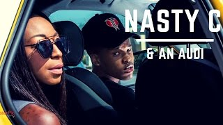 Nasty C drops two exclusive new tracks in the Audi Q2