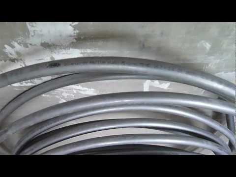 водоразводка  трубой  Rehau - Stabil
