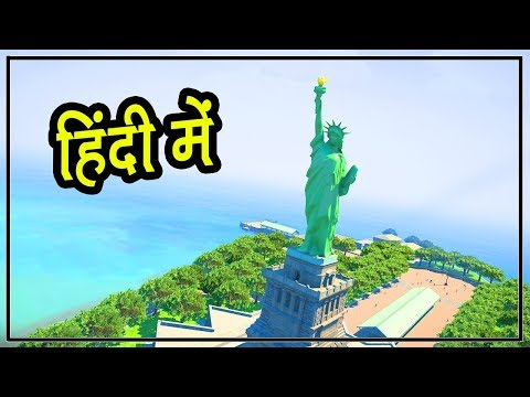 GTA 5 Rich Life - Statue Of Liberty Tour | Hitesh KS