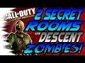 NEW 2 Secret Rooms Areas on Descent Zombies Invincible, Godmode, Teleport Glitch CoD AW