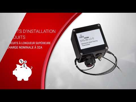 RAYCHEM ETS-05 Electronic Heat Tracing Thermostat (French)