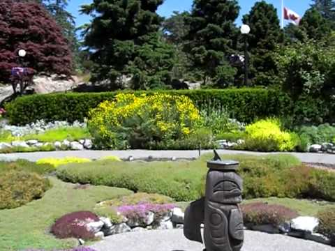 Government House Gardens Victoria BC - YouTube
