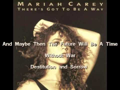 Mariah Carey-There's Got To Be A Way(with Onscreen Lyrics)