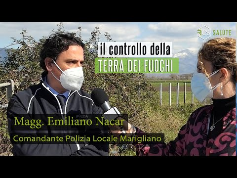 Il controllo della TERRA DEI FUOCHI con il Magg. Emiliano Nacar