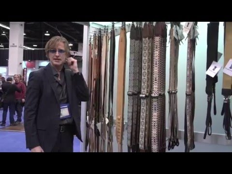NAMM 2016 - Levy's Leathers Diego Series Guitar Straps
