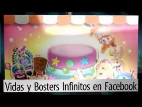 Vidas infinitas Candy Crush Saga Facebook