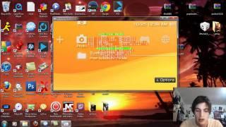 Repeat youtube video Custom Themes on PSP Custom Firmware/Light CFW 6.60 Download