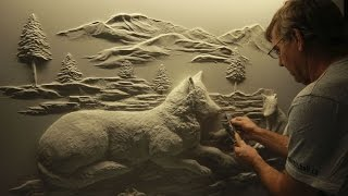 Drywall Art Sculpture 2