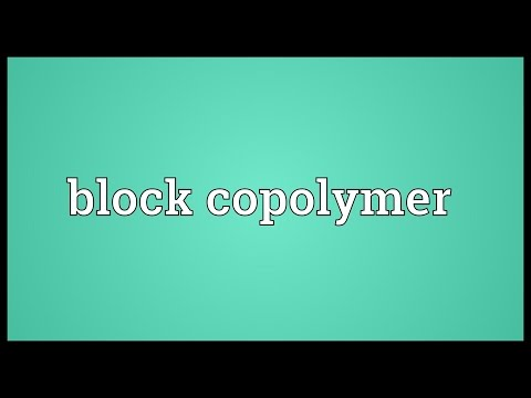 Header of copolymer