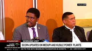 Eskom's Medupi, Kusile power stations not conceptualised properly: Scopa