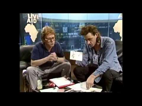 BBC Interview - Bob Geldof FUND APPEAL 1 (BBC - Live Aid 7/13/1985)