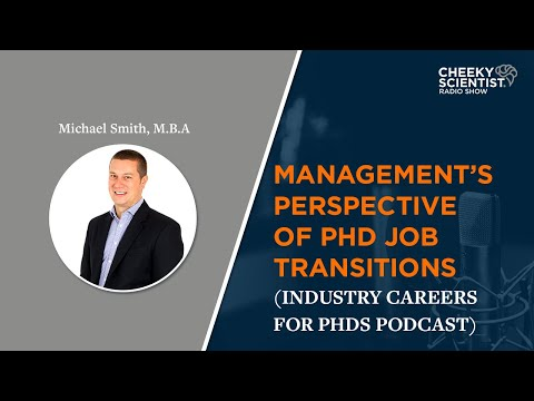 Management's Perspective Of PhD Job Transitions