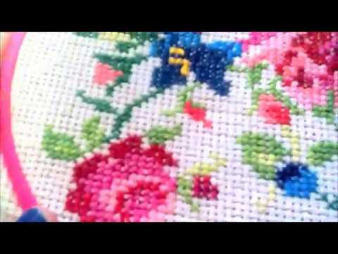 How To Do Cross Stitch Youtube