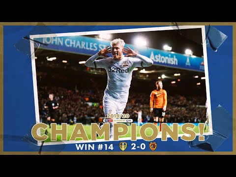 Champions! | Extended highlights | Win #14 Leeds United 2-0 Hull City