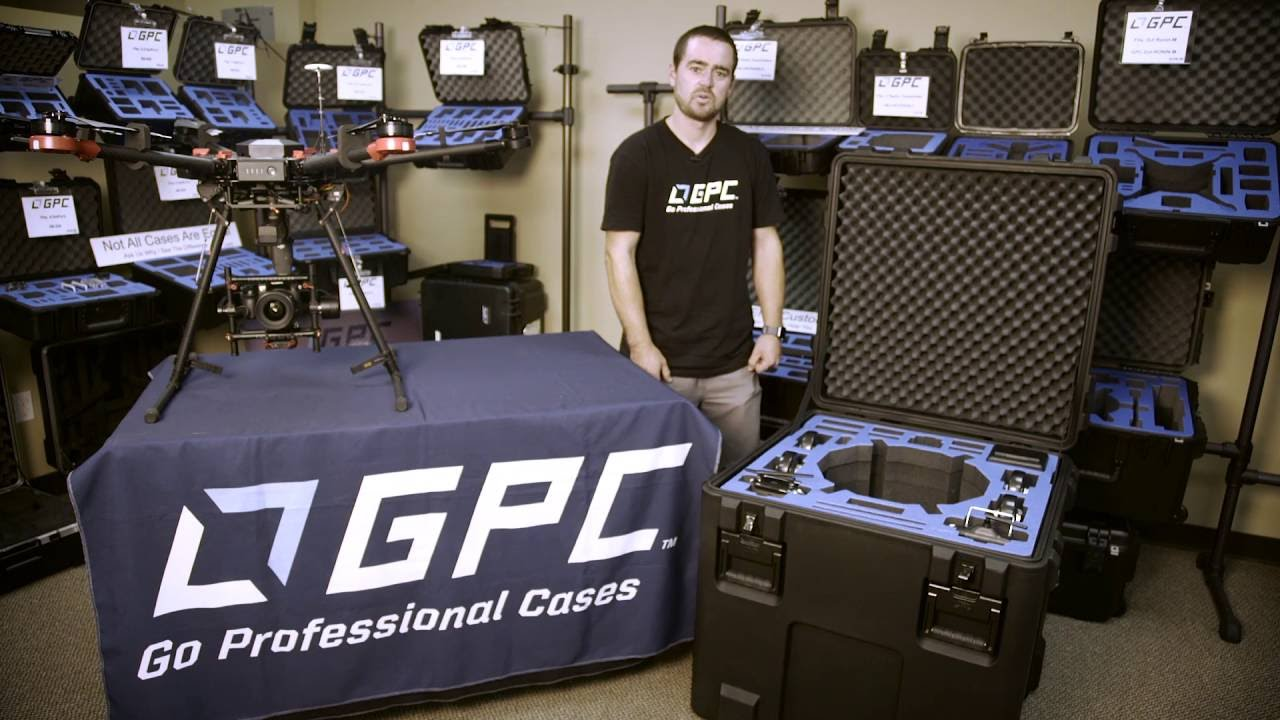 GPC DJI Matrice 600 Case Overview