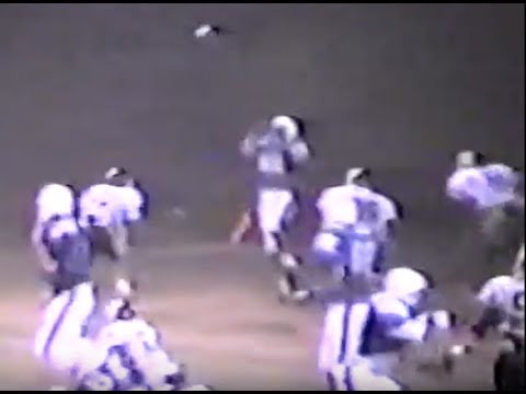 Ponca Indians football 1989 (Emerson, Wakefield, Homer)