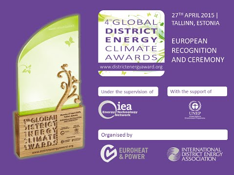 Global District Energy Climate Awards - Euroheat & Power Congress 2015