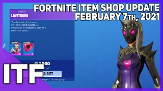 Fortnite Item Shop LOVETHORN IS BACK! NEW WRAP! [February 7th, 2021] (Fortnite Battle Royale)