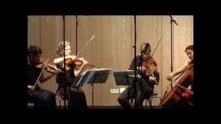 "Hegel Quartett Mozart Quartet in C-Major, KV 465 ""Dissonance"" (1/4) Adagio-Allegro"