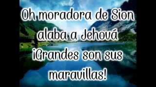 Oh Moradora de Sion (Letra)