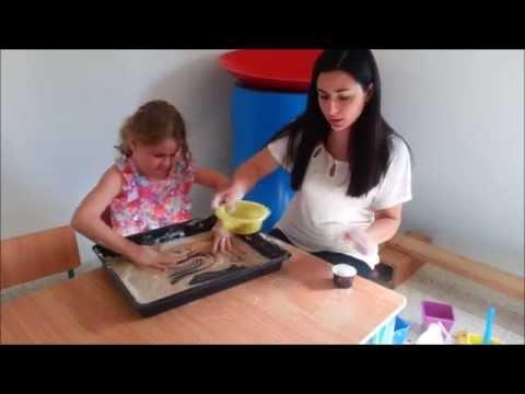 עבודה עם מרקמים - יוצרים חול קינטי בייתי